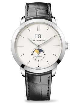 GIRARD-PERREGAUX 1966 LARGE DATE, MOON PHASES - 49546-53-131-BB60