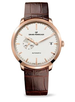 GIRARD-PERREGAUX 1966 SMALL SECONDS AND DATE - 49543-52-131-BKBA