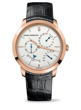 GIRARD-PERREGAUX 1966 ANNUAL CALENDAR AND EQUATION OF TIME - 49538-52-131-BK6A