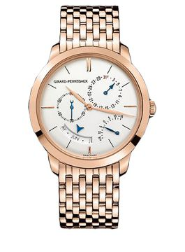 GIRARD-PERREGAUX 1966 ANNUAL CALENDAR AND EQUATION OF TIME - 49538-52-131-52A