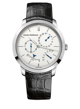 GIRARD-PERREGAUX 1966 ANNUAL CALENDAR AND EQUATION OF TIME - 49538-53-133-BK6A
