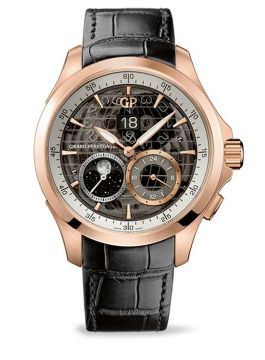Traveller LARGE DATE, MOON PHASES & GMT - 49655-52-232-BB6A