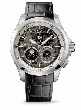 Traveller LARGE DATE, MOON PHASES & GMT - 49655-11-231-BB6A