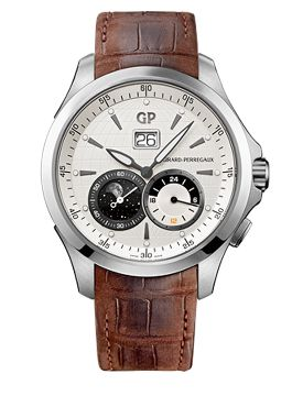 Traveller LARGE DATE, MOON PHASES & GMT - 49655-11-132-BB6A