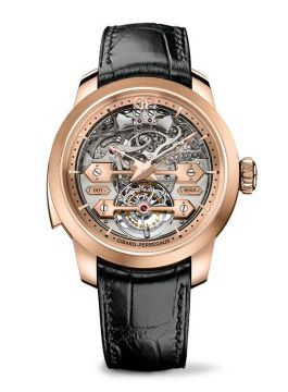 Minute Repeater TOURBILLON WITH GOLD BRIDGES - 99820-52-000-BA6A