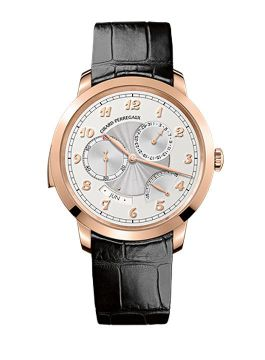 GIRARD-PERREGAUX 1966 MINUTE REPEATER, ANNUAL CALENDAR AND EQUATION OF TIME - 99651-52-111-BA60