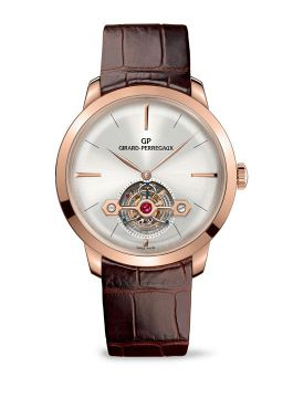 GIRARD-PERREGAUX 1966 TOURBILLON WITH GOLD BRIDGE - 99535-52-131-BKHA
