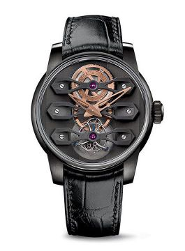 Neo-Tourbillon with Three Bridges DLC TITANIUM - 99270-21-000-BA6E