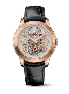 TOURBILLON WITH THREE GOLD BRIDGES - 99193-52-002-BA6A