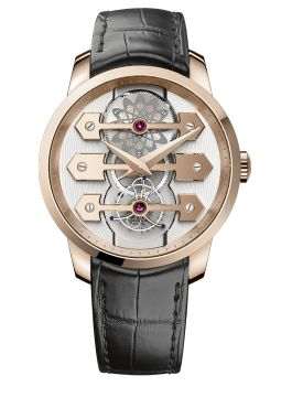 BRIDGES TOURBILLON WITH THREE GOLD BRIDGES 45 MM - 99280-52-000-BA6E