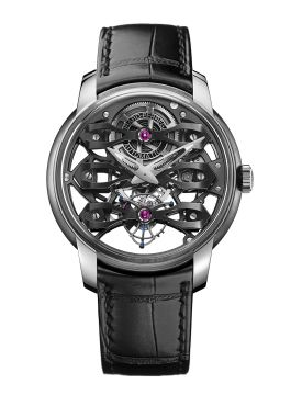 NEO-TOURBILLON WITH THREE BRIDGES SKELETON - 99295-21-000-BA6A
