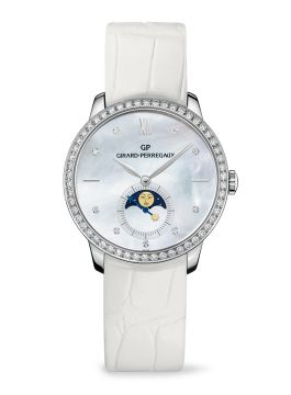 GIRARD-PERREGAUX 1966 LADY MOON PHASES - 49524D53A752-CK7A