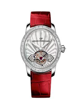 CAT'S EYE JEWELLERY TOURBILLON WITH GOLD BRIDGE  REF : 99490B53A704-CKHA -