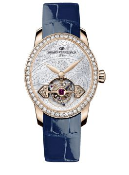 CAT'S EYE TOURBILLON WITH GOLD BRIDGE - 99490D52A706-CK6A