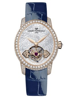 CAT'S EYE TOURBILLON WITH GOLD BRIDGE - 99490D52P706-CK6A