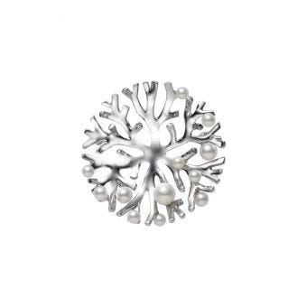 Mikimoto Coral Collection Brooch - PB-20117S